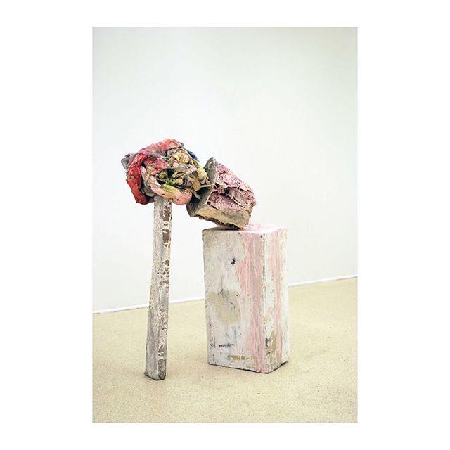 Rachel Niffenegger. 'Propped Planter Bust', 2011. #RachelNiffenegger