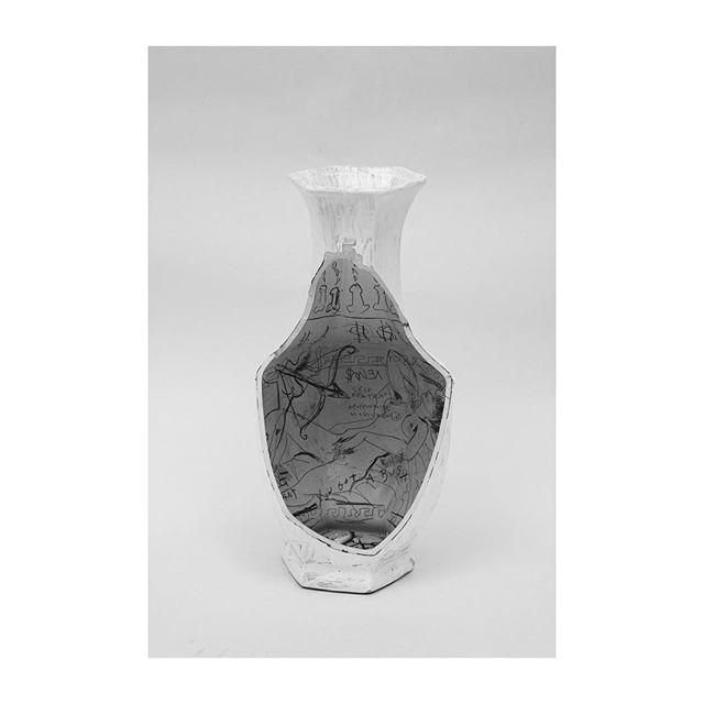 Andrea Mary Marshall. 'Cupid's Vase', 2015. #AndreaMaryMarshall