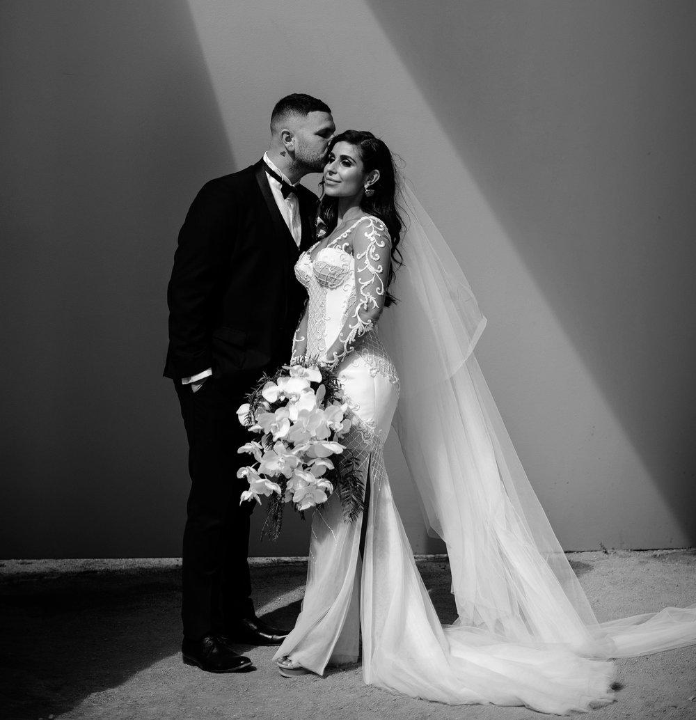 Photographer: Ashley K Wedding Photographer Dress: Vincenzo Pintaudi Couture