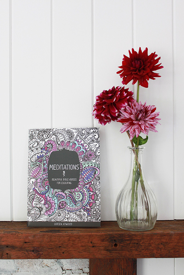 Lorien illustrations | beautiful bible colouring books | Meditations