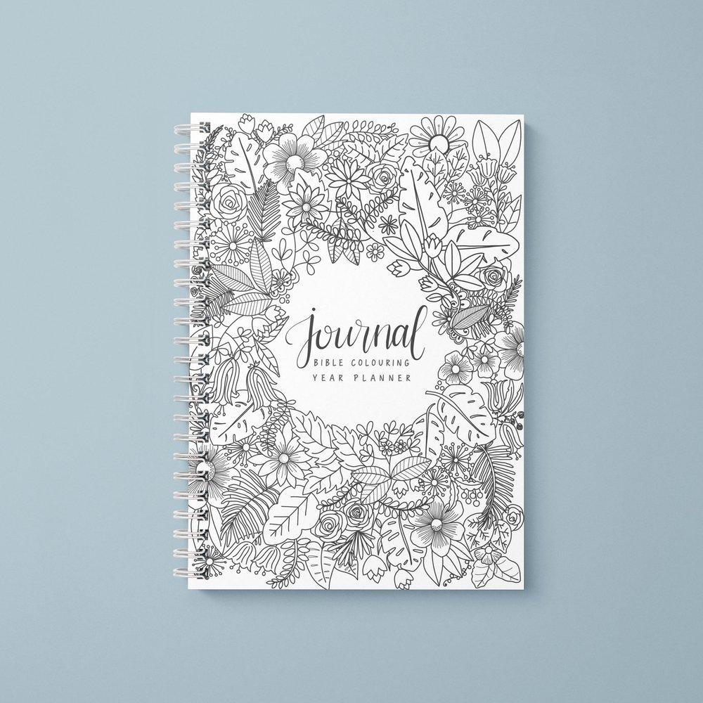 Firewheel Press | The Most Beautiful Bible Coloring