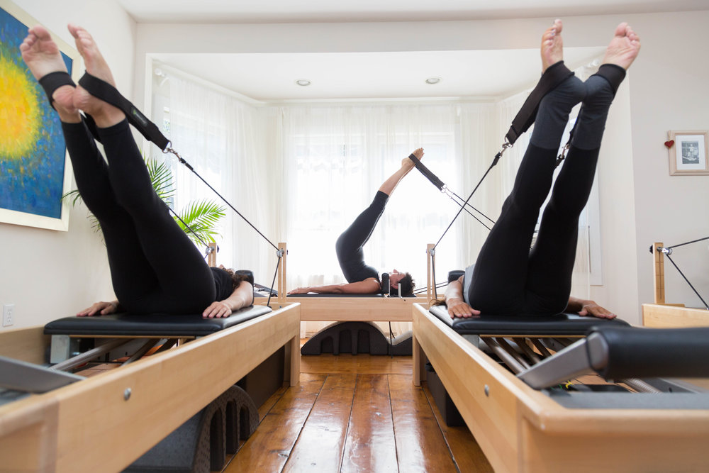 Trio on the Reformer
