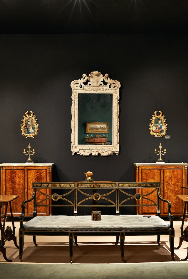 Michael Lipitch's Stand at the LAPADA Art & Antiques Fair 2014