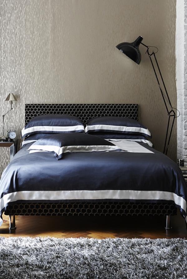 Gingerlily City Slake Silk Bed Linen