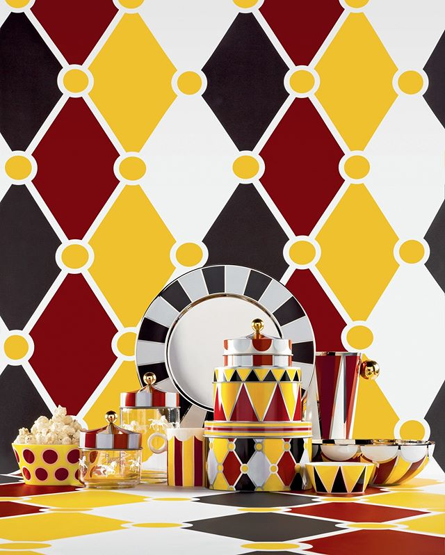 """More is more"" has established itself as the tagline of the season and we think that nothing says it better that the marvellous Circus collection designed by Marcel Wanders for Alessi. There is a piece of exuberant delight for everyone! . . @alessi_official #Alessi #designed #marcelwanders #circus #designlife #productdesign #interior #interior_design #homedecor #designmind #moreismore #design #homedecor #colourcrush #maximalism #CAloves"