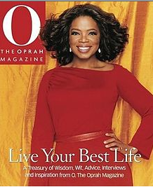 cover of Live Your Best Life, The Oprah Magazine