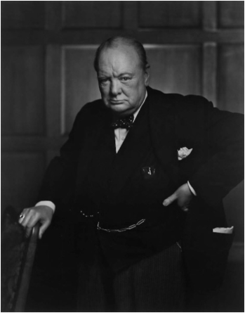 Winston Churchill © Yousuf Karsh [1941]