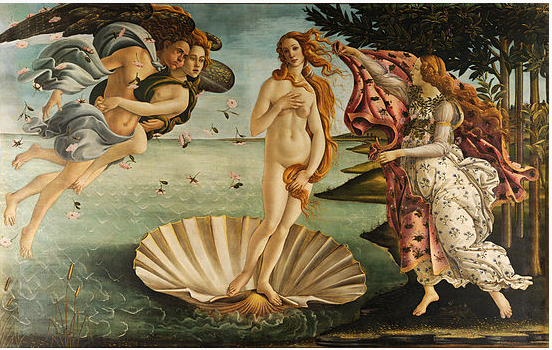 Sandro Botticelli's 'Birth of Venus' c. 1486