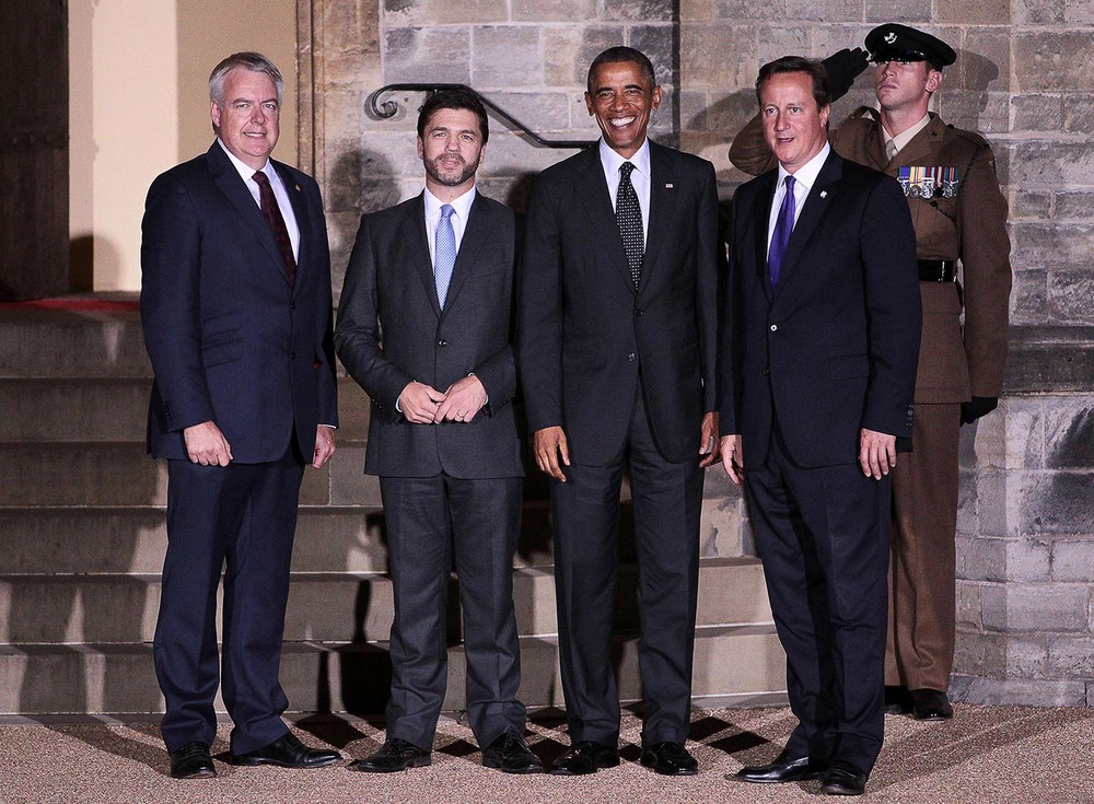 NATO Working Dinner at Cardiff Castle