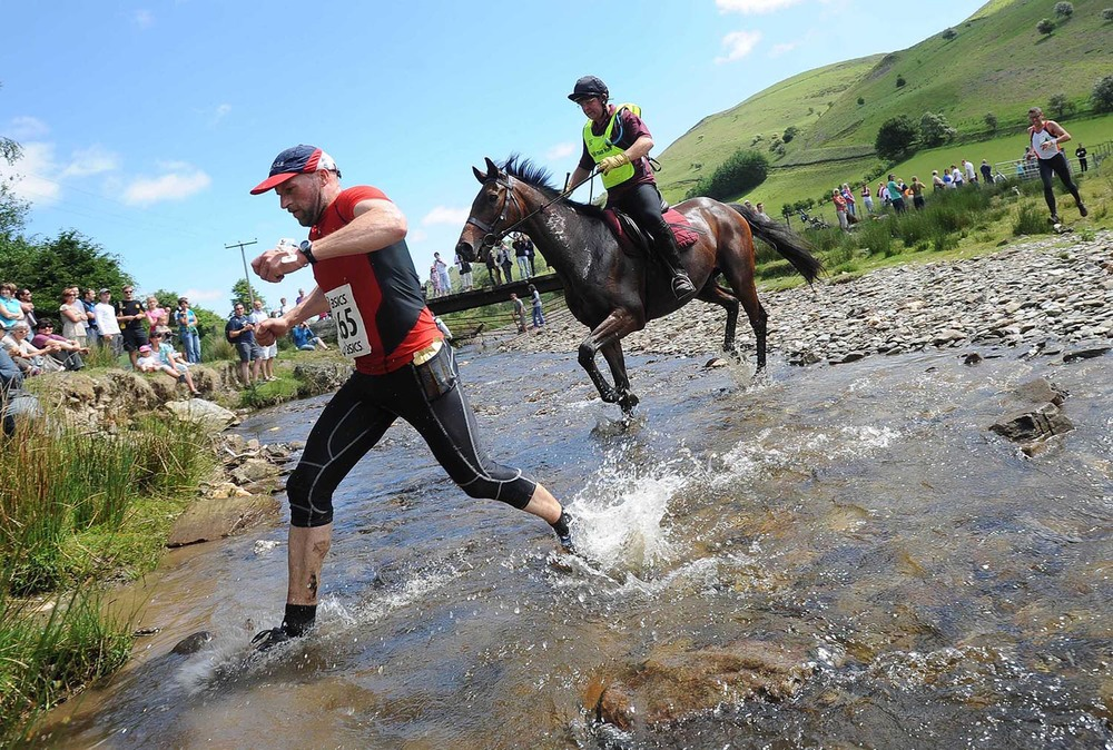Man v Horse Race