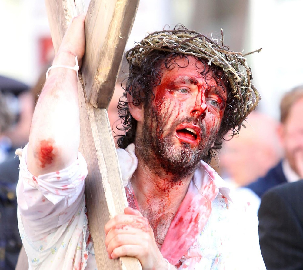 "Michael Sheen in ""The Passion"""