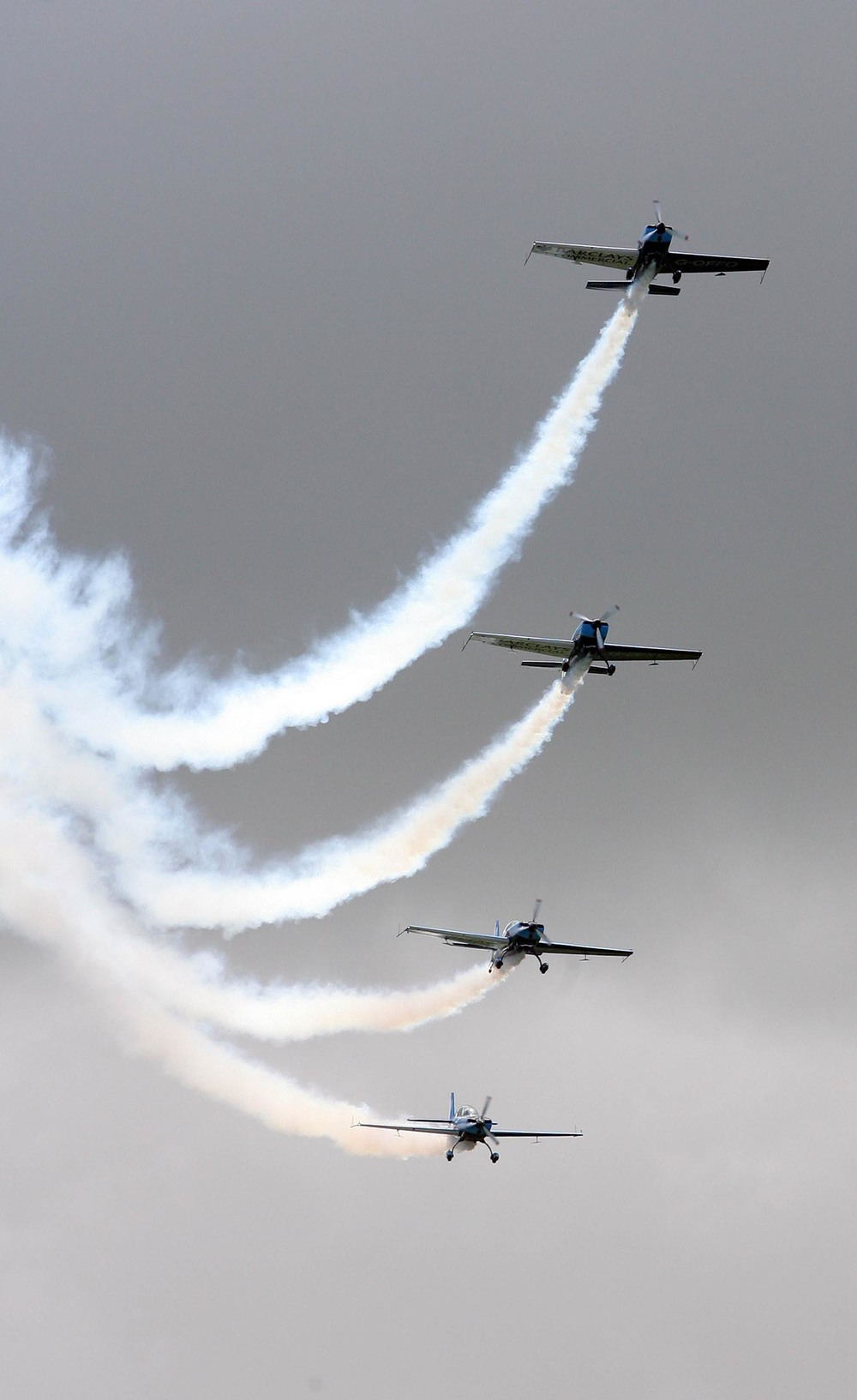 The Blades aerobatic team