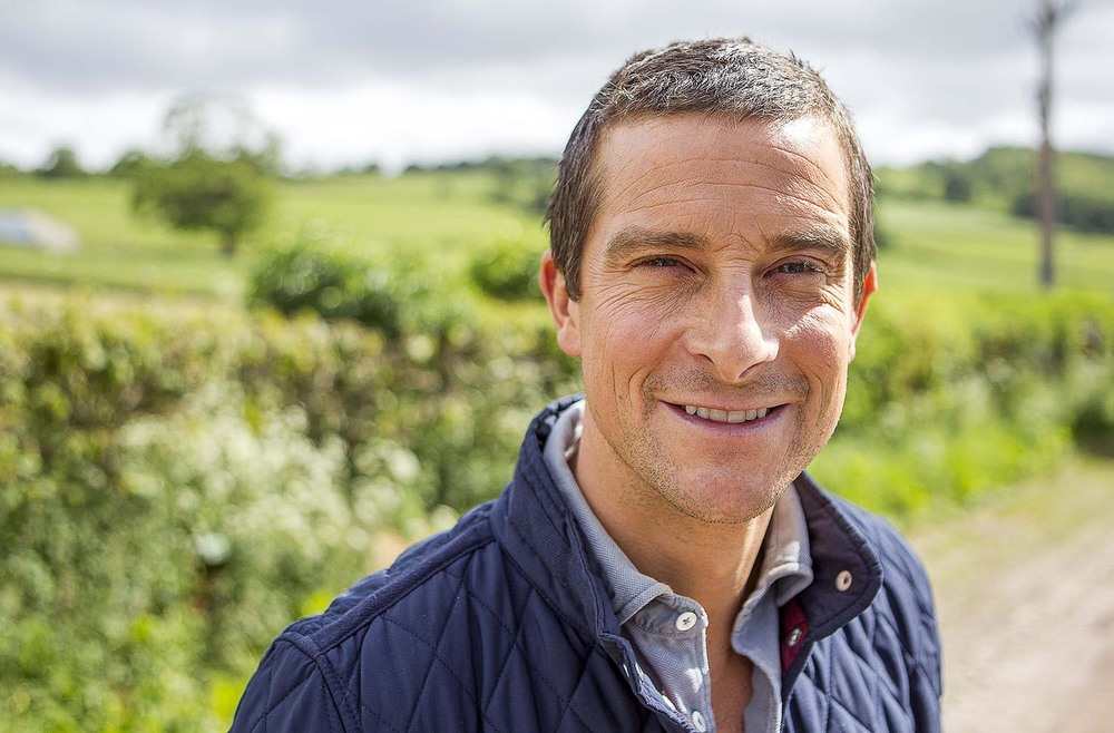 Bear Grylls at Hay Festival