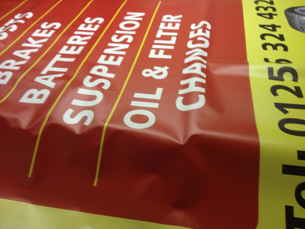 XL banner printing