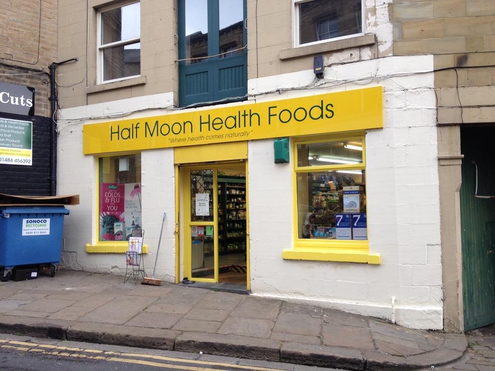 Copy of Multicoloured shop signs