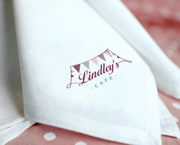Logo design for Lindley's Cafe