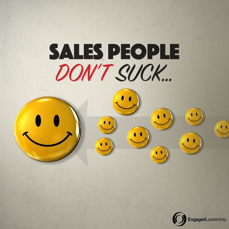 Salespeople Don't Suck