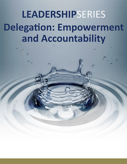 Delegation: Empowerment and Accountability Program Description (PDF) »