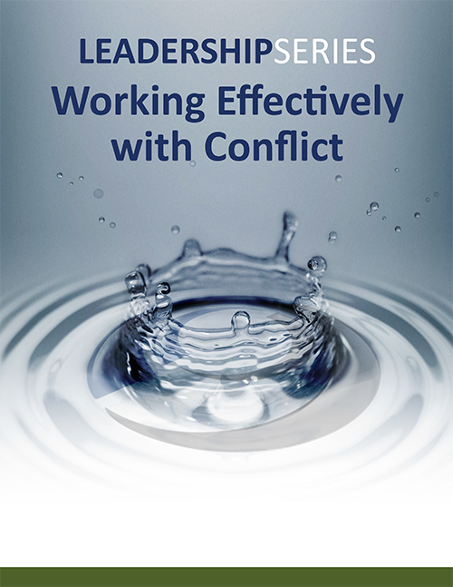 Working Effectively with Conflict Program Description (PDF) »