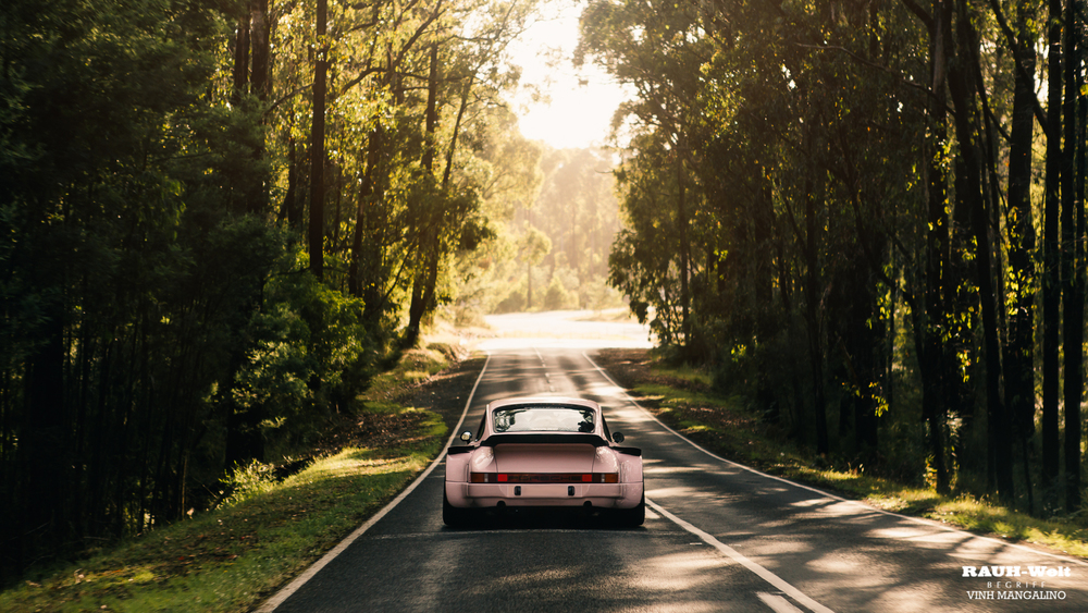 RWB Porsche Hill Run