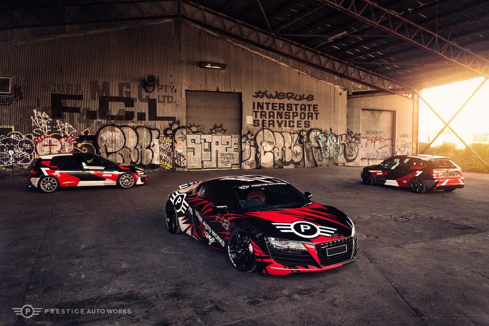 APR Promo Cars