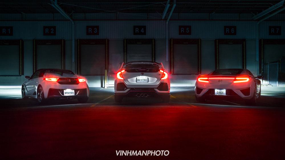 2018 Honda NSX & Civic Type-R