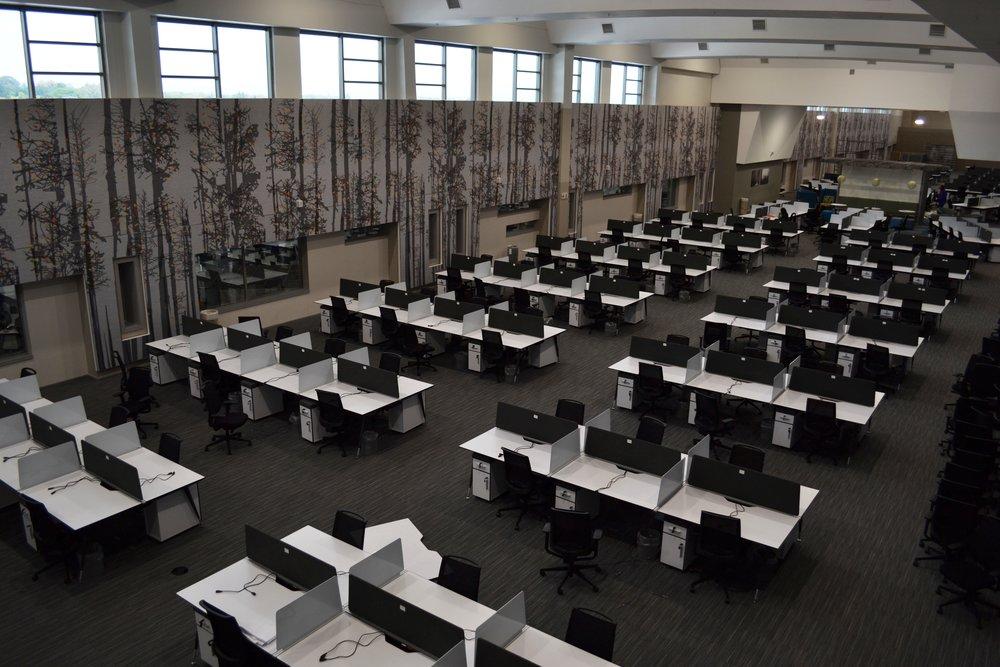 FNB Call Centre - FabFrame Acoustic panels (31).JPG