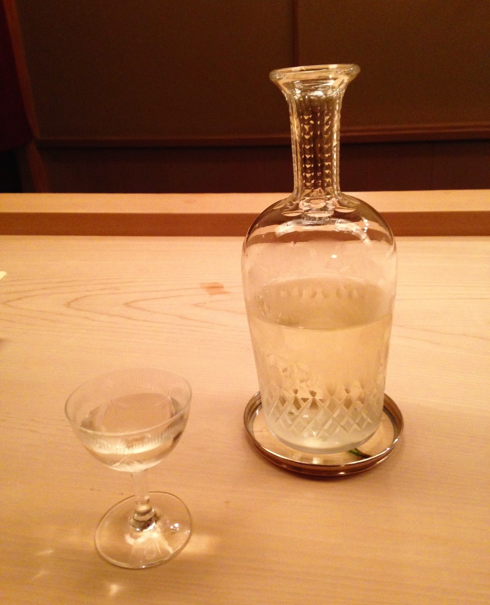 Daiginjo sake (don't know producer)
