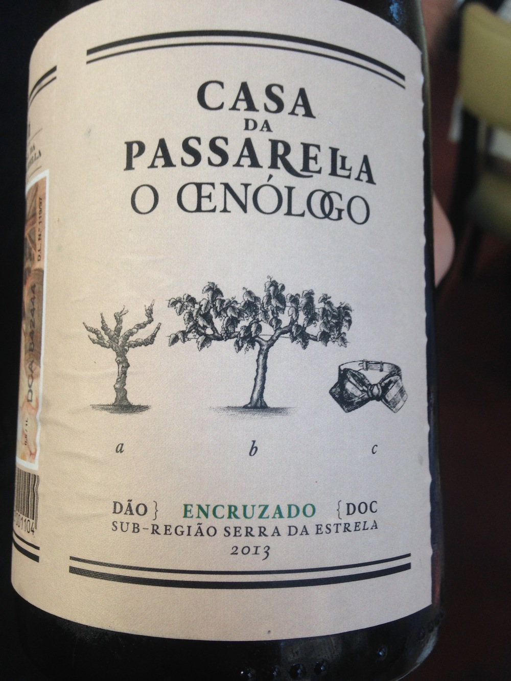 encruzado grape (Dao)