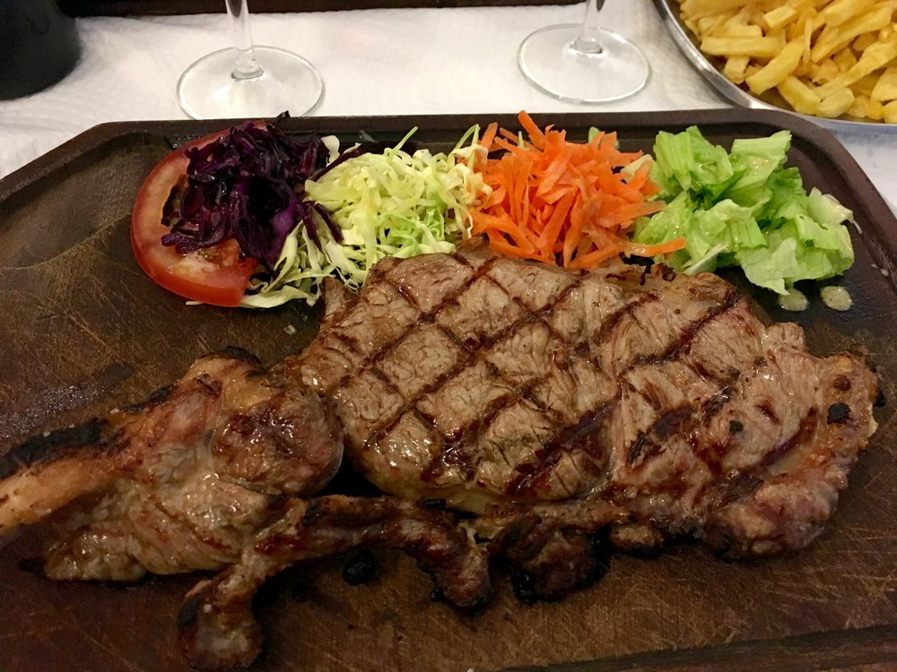 "Entrecote na Tabua ""grilled steak"""