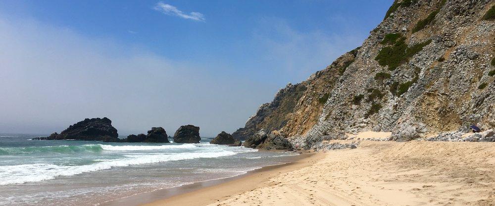 Praia (beach) da Adraga