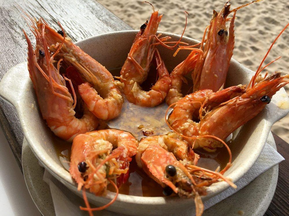 camarão (shrimp)