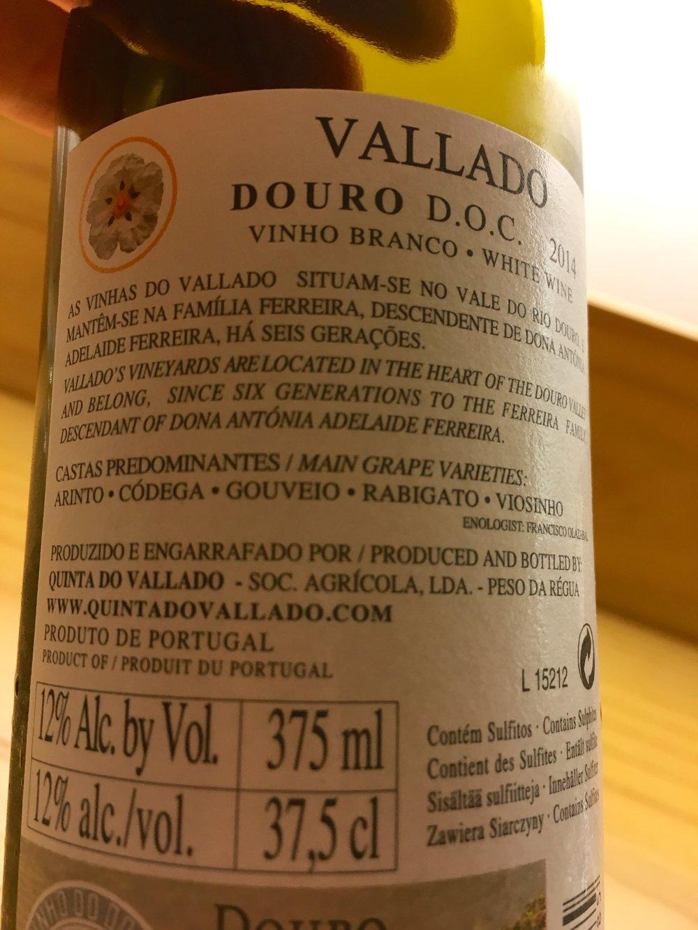 vinho branco (white blend)