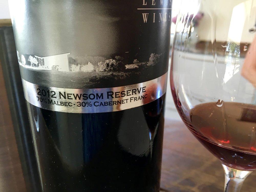 2012 Newsom Reserve