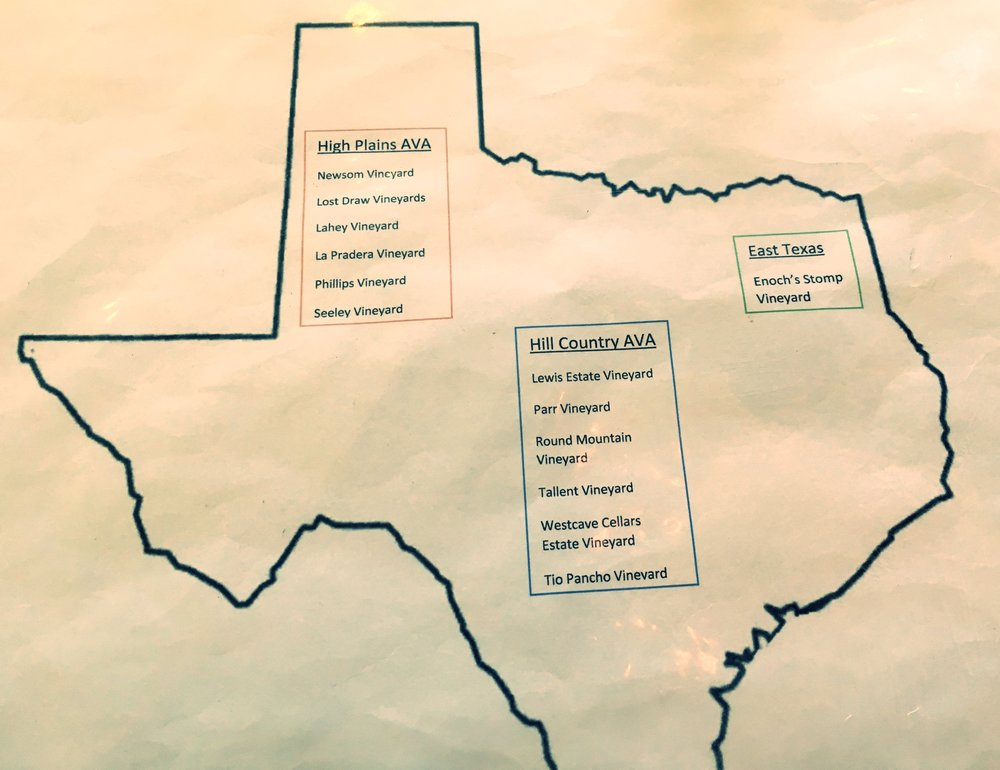 handy TX AVA map!