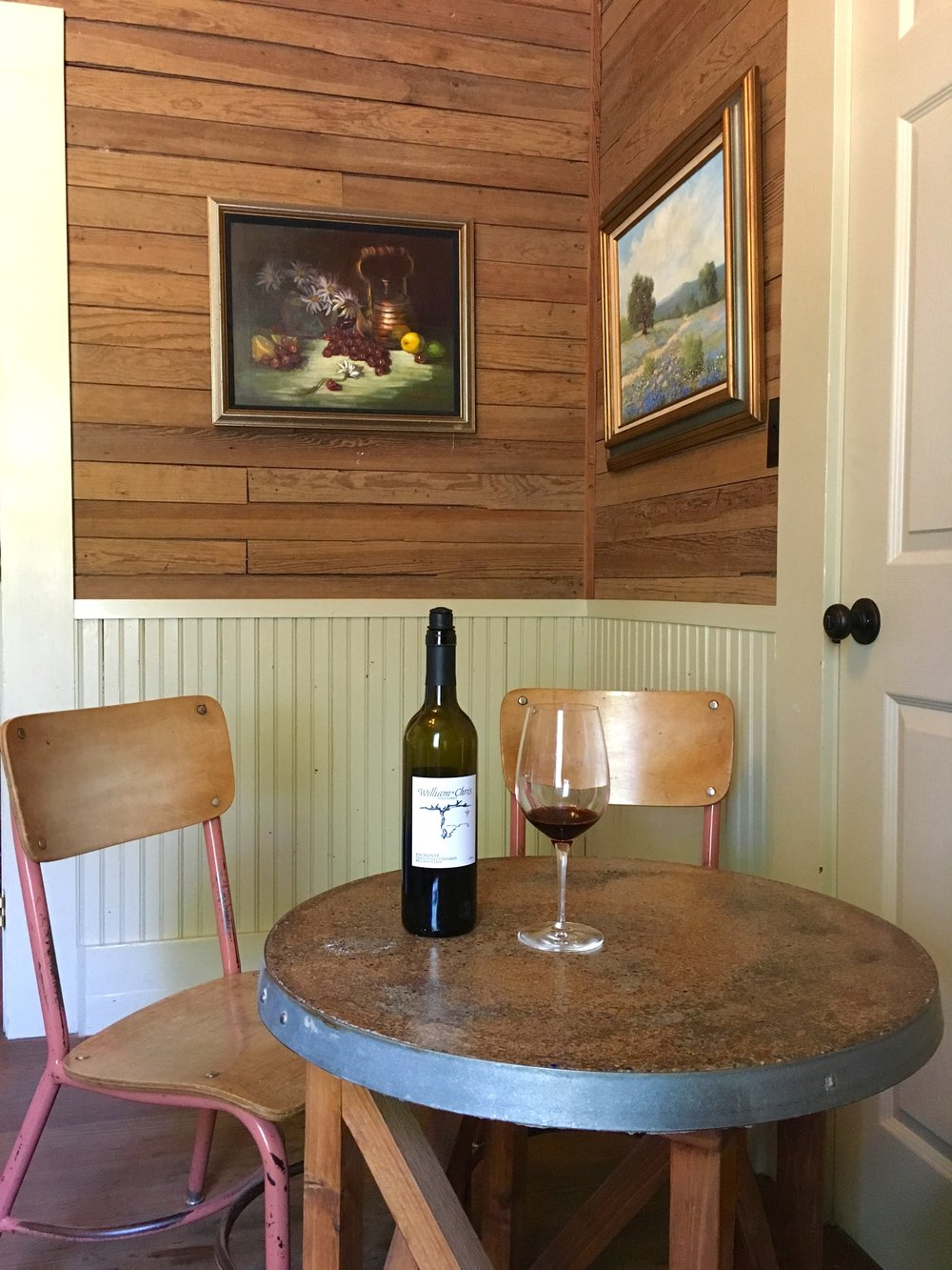 farmhouse tasting room