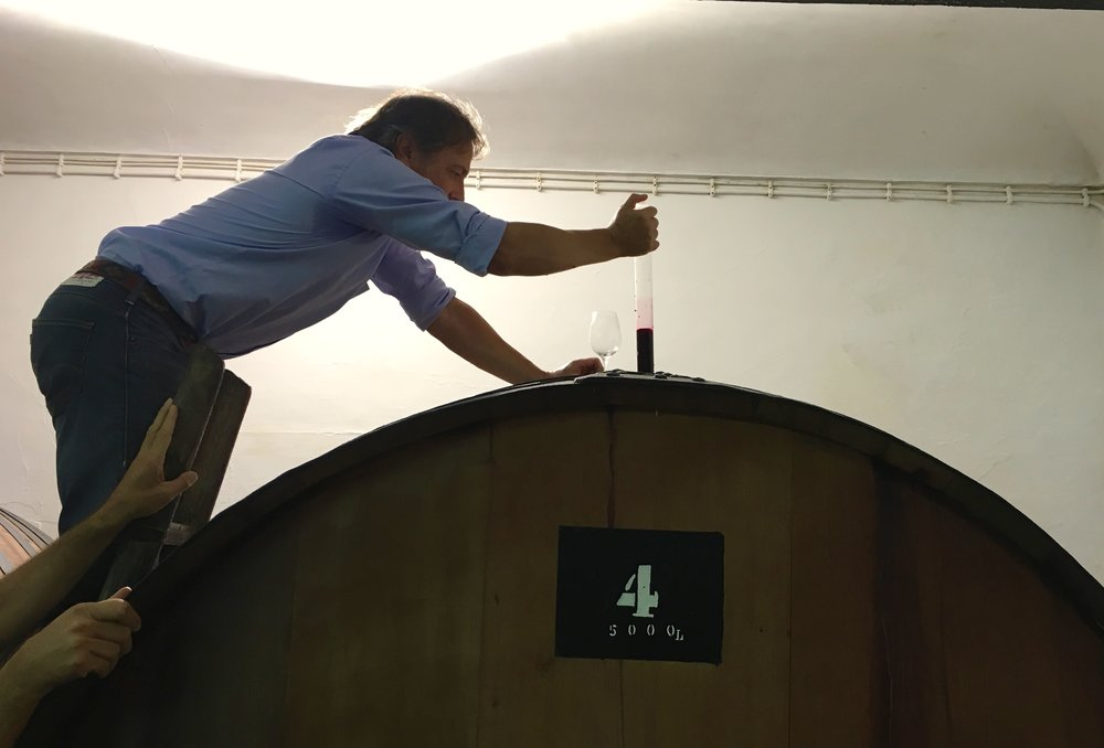Iain barrel sampling