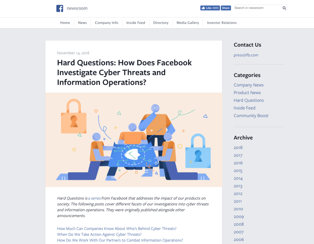 Facebook's 'Hard Questions' puts across the company's case persuasively