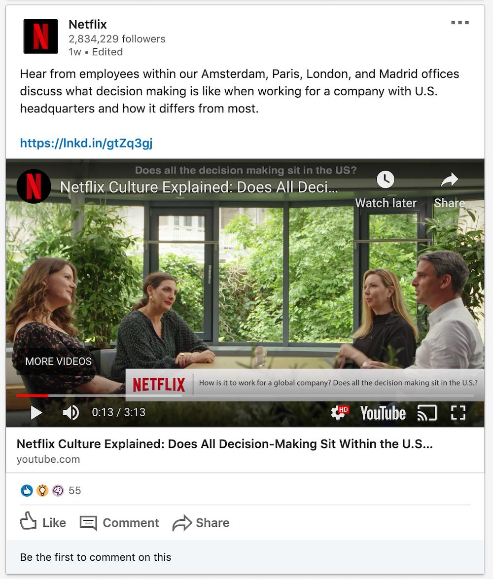 Netflix Selling The Company Culture Internationally Anansi