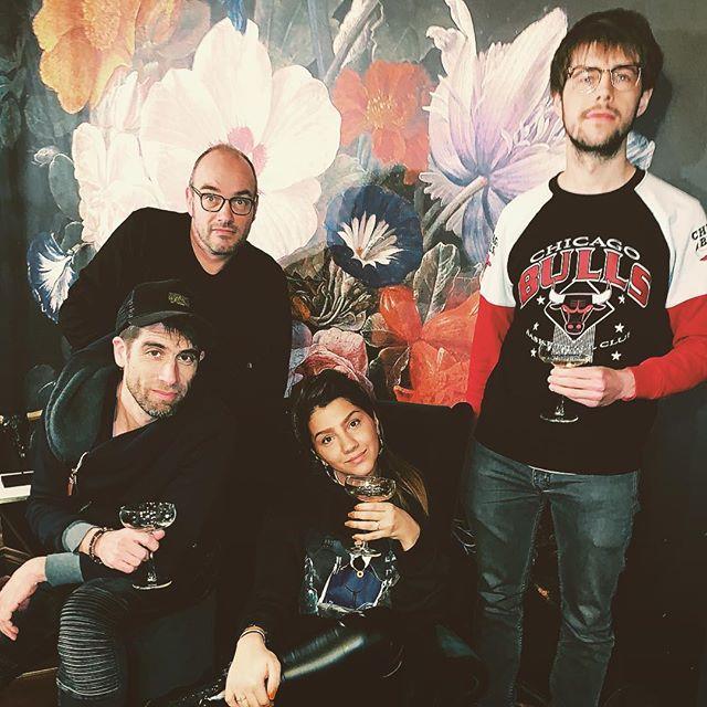Eerste champagne van het jaar. Nieuwe signing van Fruity/CTM: Sima Heyrati Welcome to the CTM family!  @simaheyrati @fruitylabel