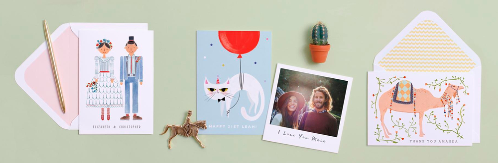 Our Grumpy Birthday cat featured among cards from Bow and Arrow Press and Small Adventure!