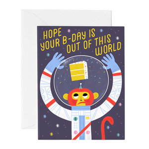 Out Of This World Birthday Card