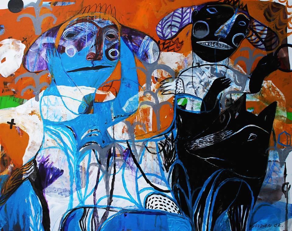 """Shambala"". Acrylic on Canvas. 100x100cm."