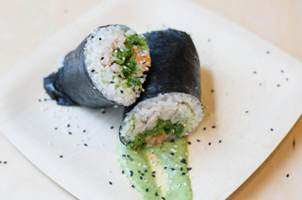 In the Union Square area and hungry for lunch? Come try our new shrimp sushi burrito!