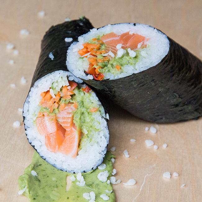 Chef's O-Maki Sushi Burrito