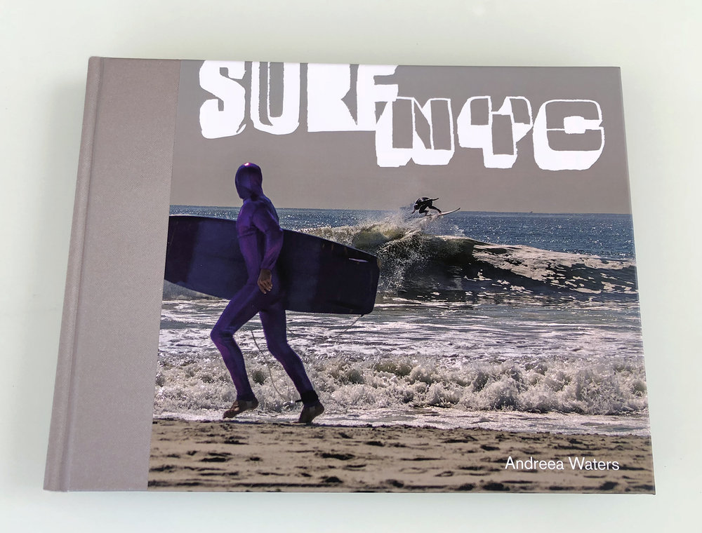 "SURF NYC Photography Coffee Table Book. Hard Cover 12"" x 9""; 136 Pages; 64 Color Images. Published by Schiffer Publishing."