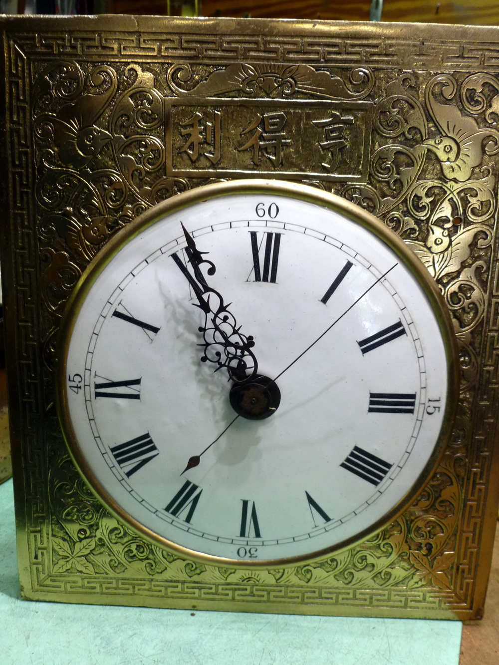 You can see how highly carved the dial is.