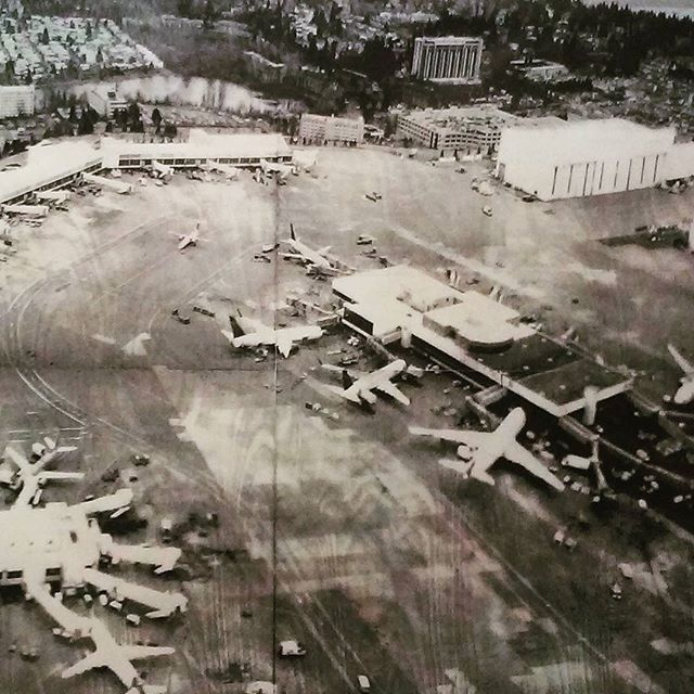 #Somewhere #JiminLee #newprints2015 #ipcny #526w26 #5a  #lasercut #woodblock #inkjet #photography #art #gallery #westchelseabldg #airport #planes