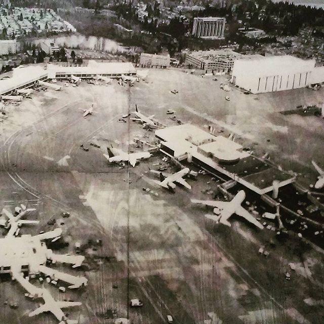 #Somewhere #JiminLee #newprints2015 #ipcny #526w26 #5a  #lasercut #woodblock #inkjet #photography #art #gallery #westchelseabldg #airport #planes