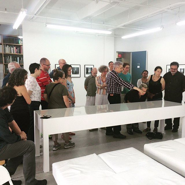 Missed our talk last Saturday? Don't worry, there's another chance this Saturday 2pm! Join the @thewalthercollection at The Project Space! #art #526w26 #nyc #chelsea #walthercollection